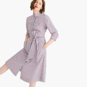 J. Crew Tie-Waist Shirt Dress NWT